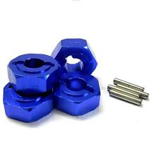 L176NB 1/8 Scale Buggy M14 14mm Drive Hex Hub Wheel Adapter Alloy Navy Blue 6mm