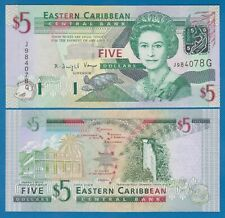 """East Caribbean States 5 Dollars P 42g UNC """"GRENADA"""" Low Shipping! Combine! 42 G"""