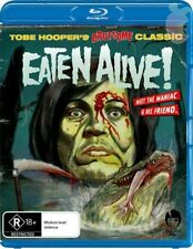 Eaten Alive - Bluray Cult Horror Tobe Hooper Rober Englund (tons of extras)