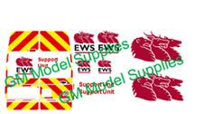 00 1:76 Waterslide Transfers Ford Transit LWB EWS Livery Kit