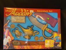 Vtg Disneys Aladdin Adventure Set Mattel 1992 New in Package Costume Genie Lamp