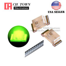 100PCS 0603 (1608) Yellow Green Light SMD SMT LED Diodes Emitting USA