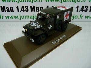 BL31U atlas IXO 1/43 Blindés WW2 : Dodge WC54 croix rouge ambulance red cross