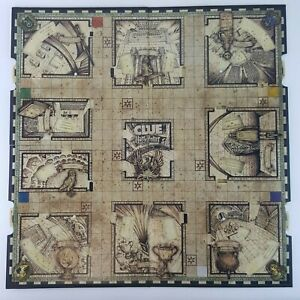 Clue Harry Potter Game Board Bi-fold Replacement Game Part Piece 2016