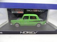 1:18 Norev #185704 Simca 1294 2 Dc 1000 Rally 2 Verde - Rareza§