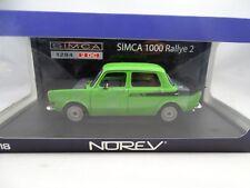 1 18 Norev #185704 Simca 1294 2 DC 1000 Rally 2 verde - Rareza§