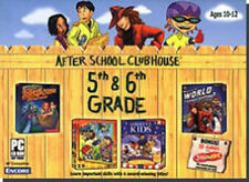 AFTER SCHOOL CLUBHOUSE 5th-6th Grade  New in Box  Carmen Sandiego ClueFinders