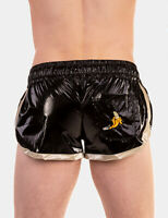 Barcode Berlin > Short Alfred Noir/Or Vernis 91842/104 Gay Sexy Tout Neuf