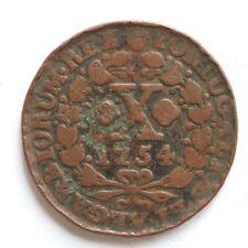1754 Portugal 10 reis SNo31331