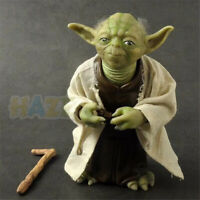 Star Wars The Force Awakens Jedi Master Yoda Action Figure Model Toy Great Gift