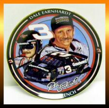 "Hamilton Dale Earnhardt Sr #3 THE INTIMIDATOR 6.5"" Collector's Plate with COA"