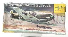 Vintage Heller 1/72 Messerschmitt B.f 109E Model Kit L089