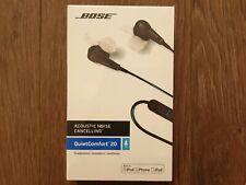 Bose QuietComfort QC20 Acoustic Noise Cancelling Headphones Apple Device - Black