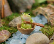 Miniature Fairy Garden Frog Rowing Boat - Buy 3 Save $5