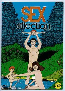 S*X AND AFFECTION - Comix - 1st printing - Wraparound cover