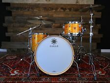SAKAE TRILOGY 3 PIECE DRUM KIT CITRUS MOD