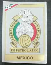 1986 PANINI MEXICO 86 ORIGINAL UNUSED MEXICO  BADGE STICKER #110