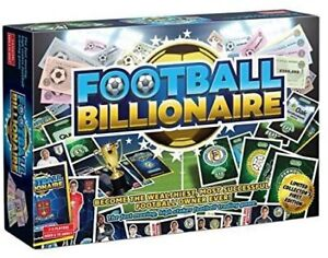 Football Billionaire Bored Game Collector's Limited First Edition