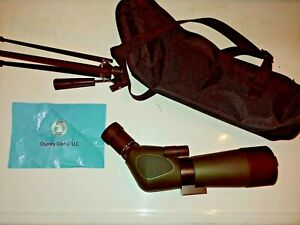 Osprey 15 45 60 Spotting Scope with Tripod, Paperwork and Case