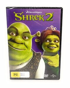 Shrek 2 DVD New & Sealed Region 4 Free Postage