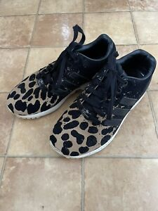 Adidas Torsion Leopard Print Trainer, Size 4, Very Good Condition