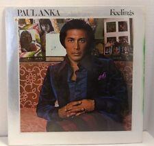 PAUL ANKA: Feelings SEALED Vinyl LP - United Artists UA-LA367-G - No barcode