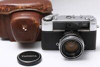 YASHICA LYNX 1000 Vintage Rangefinder Origine cap case  As Is JAPAN 200995