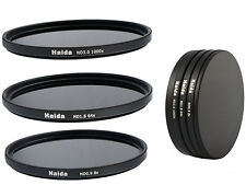 Haida ND graufilterset nd8x, nd64x, nd1000x - 77mm incl. Stack Cap