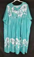 Anthony Richards Midi Floral Lounge Dress Size 4X