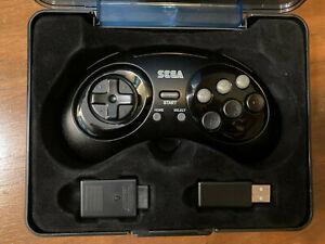Retro-Bit Sega Genesis (or Mini) 2.4 GHz Wireless Controller 8-Button Arcade Pad