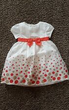 NWT Gymboree Holiday Shine polka dot gold Dress Size 12-18 months  w/ bloomers