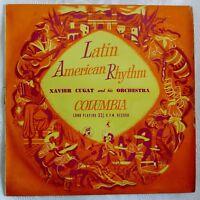 "Xavier Cugat - Latin American Rhythm - Brazil - La Cucaracha - Columbia / 10"" LP"