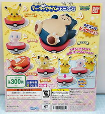 Pokemon Teacup Time Mascot 2, 5pcs - Bandai , h#3ok