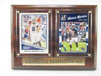 M.Mariota Tennessee Titans Holz Wandbild 20 cm,Plaque NFL Football