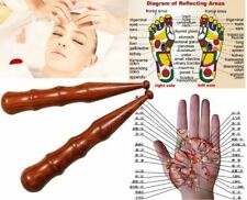 Wood Stick Tools Thai Wooden Massage Spa Foot Hand Reflexology Health Therapy