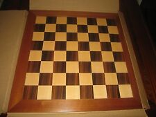 "House of Staunton Traditional Superior Line Chess Set Board with 2 3/8"" squares"