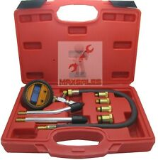 Digital Petrol Gas Auto Engine Cylinder Compression Tester Gauge Motor Auto Kit