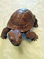 Magnificent Exquisitely Detailed Heavy Bronze Turtle Tortoise