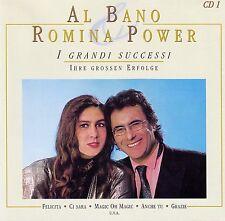 AL BANO & ROMINA POWER : I GRANDI SUCCESSI 1 / CD - NEUWERTIG