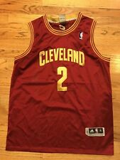 Kyrie Irving Adidas cavs jersey X-Large away Crimson and yellow throwback