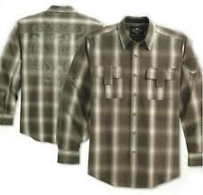 Harley-Davidson Men's Cotton Long Sleeve Casual Shirts & Tops