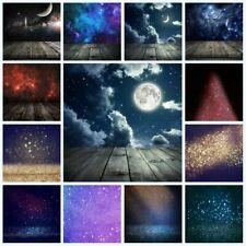 Shining Glitter Dreamlike Sky Photography Background Photo Backdrop Props 2 Size