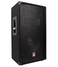 "Rockville RSG12.4 12"" 3-Way 1000 Watt 4-Ohm Passive DJ/Pro Audio PA Speaker"