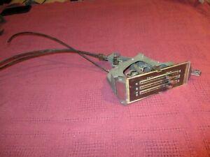 1969 1970 69 70 Chevrolet Nova Camaro ss rs z28 Heater Controls control non a/c
