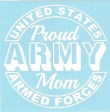 Proud Army Mom Car Truck Suv Military vinyl sticker decal