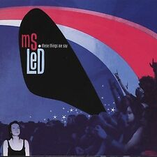 These Things We Say; Ms Led 2002 CD, Feminist Power Pop, Indie Rock, CD Baby Ver