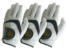 Onyx Mens Premium LH Golf Gloves 3 Pack All Weather Size Left Hand Medium White