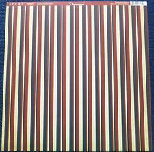 4th of July American Stripe 12 x 12 Scrapbook Paper by Reminisce-4 sheets