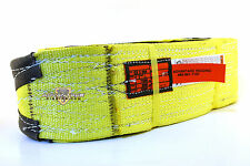 Ee2-904 X14Ft Cut Slip Resistant Nylon Lifting Sling Strap 4 Inch 2 Ply 14 Foot