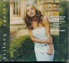 Lucky - Britney Spears Part 1 of a 2 cd set rare cd single 4 track